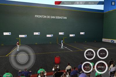 Actualización videojuego Frontón